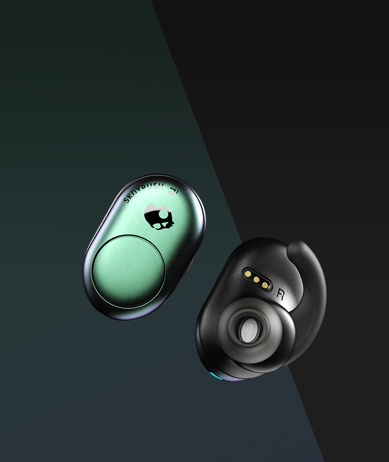 4870af6391c Bluetooth True Wireless Earbuds - Push Truly Wireless | Skullcandy